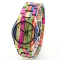 Quality Unisex Wooden Quartz Watch Bamboo Band for sale