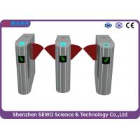 Wholesale Retractable high speed flap barrier turnstile entry systems with Patent designed from china suppliers