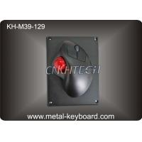 Wholesale USB or PS2 Connector 39mm Industrial Trackball Mouse With Black Metal Mounted Panel from china suppliers