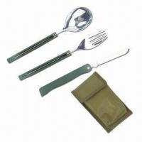 Wholesale Camping Cutlery Set/Cutlery Set, Long Lasting Cutting from china suppliers