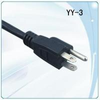 Wholesale PSE/JET Japan PVC and pure copper Power cables with grounding plug from china suppliers