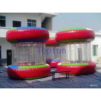 Wholesale Red Clear Adults Inflatable Water Ball  With Strong PVC Tarpaulin Ends from china suppliers