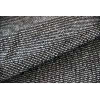 Wholesale Wool Tweed Upholstery Fabric With Bond , Thick Woolen Fabric OEM Services from china suppliers