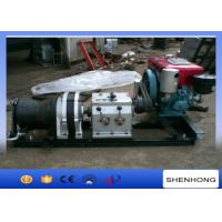 Wholesale High efficiency Water Cooled Diesel Cable Winch Small Volume 4M / Min Gears from china suppliers