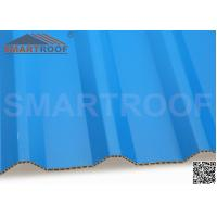 Wholesale UPVC / ASA Coating PVC Hollow Sheet Blue Weatherproof 10mm Thickness from china suppliers