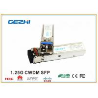 Wholesale 1.25Gbps 1550nm 120km CWDM SFP Fiber Module GSC-12xx-12C(D) for optical transmission systems from china suppliers