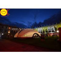 Wholesale Outdoor Event Inflatable Tent Party Tent Marquee With 210D Pvc Coated Nylon Material from china suppliers