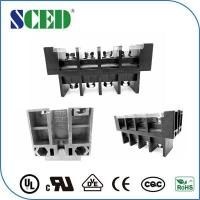 Wholesale Pitch 27mm Panel Mount Terminal Block PBT Black Steel Screw Brass Board from china suppliers