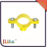 Wholesale Cast Iron Hanging Pipe Clamps , Industrial Pipe Clamp Bracket ISO9001 Certification from china suppliers
