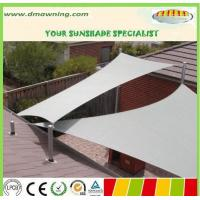 Wholesale waterproof sun shade sail,polyester fabric sun sail shade from china suppliers