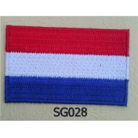 Wholesale Netherlands Flag Patch Iron On Patch from china suppliers