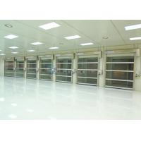 Wholesale High Frequent Using Automatic Industrial High Speed Shutter Door PVC Curtain from china suppliers