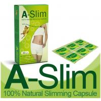 Wholesale A-Slim 100% Natural Fat Loss Capsules Diet Slimming Body Beautiful Capsule from china suppliers