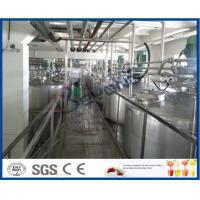 Quality SUS304 Stainless Steel Automatic Dairy Processing Plant Milk Processing Equipment High Efficiency for sale