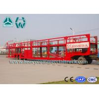 Wholesale Customized Carbon Steel Car Carrier Semi Trailer To Carry Car 2 Axels from china suppliers