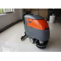 Buy cheap Low Noise Twice Cleaning Width Battery Powered Floor Scrubber Not  For Soft Carpet from wholesalers