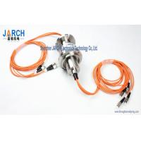 Wholesale 4 Channel  2000rpm for Multi-mode Fibre Optic Slip Ring/FORJ Stainless Steel Housing from china suppliers