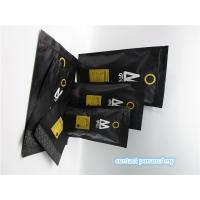 Wholesale Custom printed matte black coffee bag packaging pouch / sachet from china suppliers