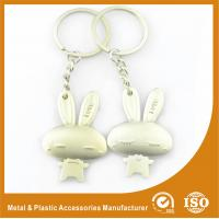 Wholesale Male and Female Rabbit Couples keychains For Valentine Day Gift from china suppliers