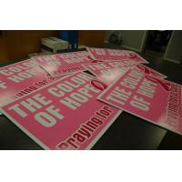 Quality Digital printed coroplas signs for sale