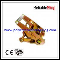 Wholesale Short aluminum handle Ratchet Buckle / cargo lashing strap buckle from china suppliers