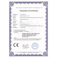 SIWIS ELECTRONIC CO.,LTD Certifications