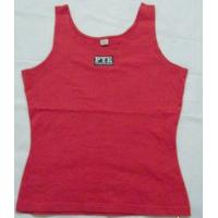 Wholesale EXPORT CUSTOM LOGO Hurdle vest T SHIRT 100%COTTON T-shirt from china suppliers