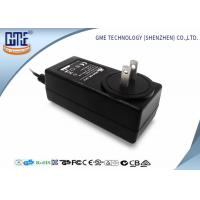 Wholesale Black 2 Flat Prong 36W AC DC Power Adapter With 1.5m Cable , 87.4% Efficiency from china suppliers