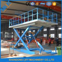 Wholesale 3T 3M Garage Parking System Hydraulic Scissor Car Lift With CE from china suppliers