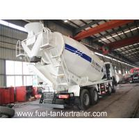 Wholesale Discharge reside less than 0.5% Concrete mixer truck with Pneumatic water supply from china suppliers