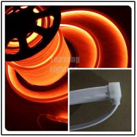 Wholesale AC110v orange square flexible led neon strip rope light 16x16mm for shop decoration IP68 from china suppliers