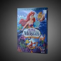 Buy cheap 2018 Hot sell The little mermaid disney dvd movies cartoon dvd movies kids movies with slip cover case,accept paypal from wholesalers