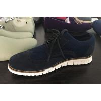 Wholesale Flyknit with suede upper lightweight EVA outsole for leisure  knitted canvass men shoes from china suppliers