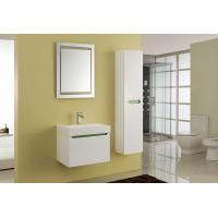 Wholesale 15mm PVC Board Modern Bathroom Sink Vanity With Resin / Glue Basin Aluminium Handles from china suppliers