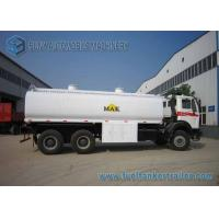 Quality North Benz 6x4 Chemical Tanker Truckr Carbon Steel  22000 L Fuel Tanker Truck for sale