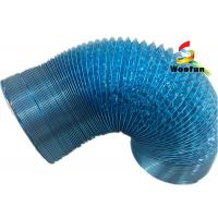 Wholesale Kitchen application aluminum laminated with the polyester blue flexible ducting from china suppliers