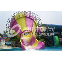 Wholesale Comercial Fiberglass Indoor Water Play Small Slide / Water Park Ride 100m3/Hr Water from china suppliers