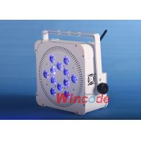 Wholesale Battery Operated Outdoor Lights , Portable Stage Lighting RGBWA + UV Six In One from china suppliers
