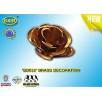 Wholesale Ref No BD032 Brass Flower Tombstone Decoration Bronze Blossom Material Copper Alloy from china suppliers