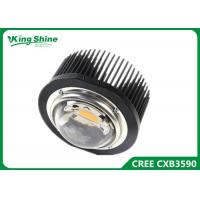 Buy cheap Black Color DIY Cree Led Grow Lights , indoor grow lights D100mm glass lens from wholesalers