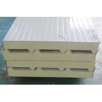 Wholesale GalvanizingSteel Poly Urethane Corrugated Sandwich Panel Insulation / ECO Friendly from china suppliers
