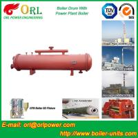 Wholesale Cement industry steam boiler mud drum TUV from china suppliers