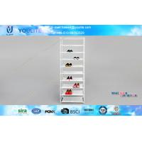 Wholesale Antique Metal Shoe Racks Shelves for Shoes Storage / Household Indoor Sneaker Airs from china suppliers