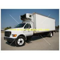 Wholesale Howo Freezer Box Truck 24v 2 tons 4X2 with electrically hydraulic control from china suppliers