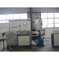 Quality Cable Extrusion Single Screw Extruder Machine With PLC Screw Diameter Φ60 mm for sale