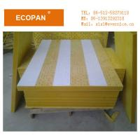 Wholesale Eco-friendly Fiberglass Reinforced Wall Panel Perforative Acoustic Thermal Insulation from china suppliers