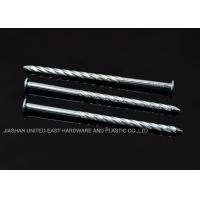 "Wholesale High Grip Galvanized Twisted Nails  2-1/2"" X BWG 10 Low Carbon Steel Rust Proof from china suppliers"