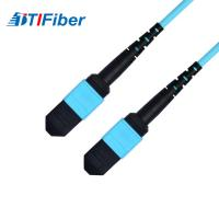 Wholesale OM3 Aqua 50/125μm Fiber optic patch cord SM MM SX DX fiber optical cable from china suppliers