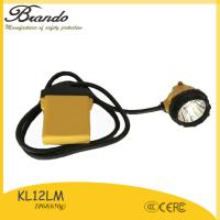 Buy cheap BRANDO miners safety lampwith IP68 waterproof, 28000lux brightness, 104Ah Li-ion Battery from wholesalers