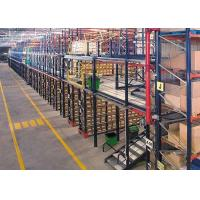 Wholesale Heavy Duty Shelf Supported Warehouse Mezzanine , Multi Tier Industrial Mezzanine from china suppliers